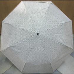 Deštník skládací Cabrio 306 bílý/kroužky