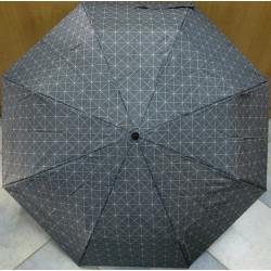 Deštník skládací Cabrio 306 šedý/kostky