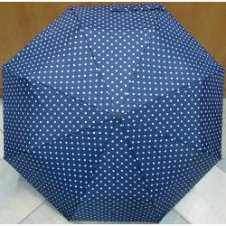 Deštník skládací Magiq 306 m/b puntíky
