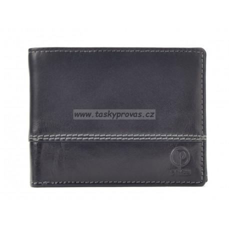 Pánská kožená peněženka Poyem 5222 černá