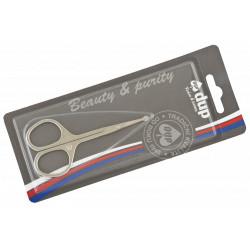 DUP nůžky na nehty s kulatou špičkou v blistru 2301-089