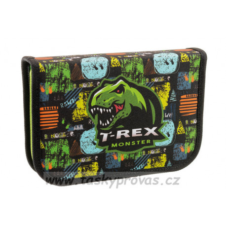 Školní penál Stil jednopatrový T-rex