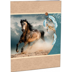 Desky na abecedu Stil Wild horse
