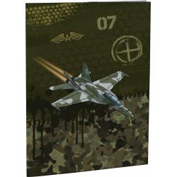 Desky na abecedu Stil Air force