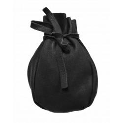 Kožený měšec Napa 81893-černá