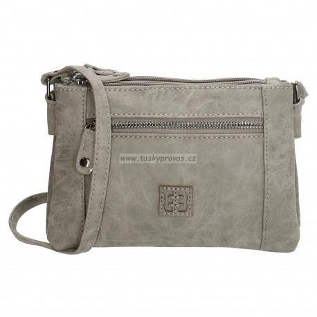 Crossbody malá kabelka Enrico Benetti 66049 mild grey