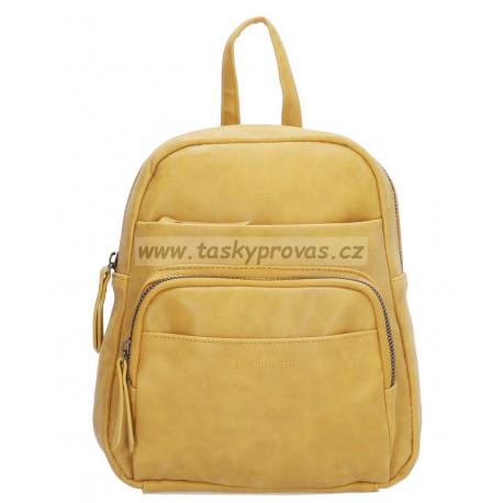 Enrico Benetti malý kabelkový batoh 66903 ocher