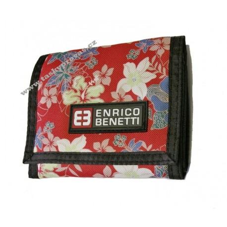 Peněženka textilní ENRICO BENETTI 54403 red