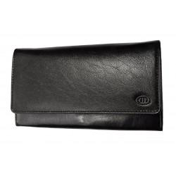 Dámská kožená peněženka DD 01-01 černá