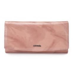 Carmelo dámská kožená peněženka 2109 P růžová