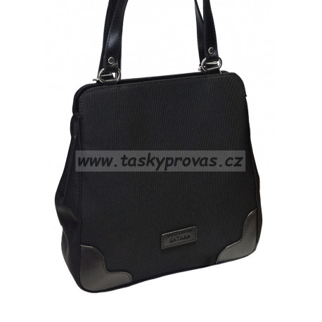 Kabelkový batůžek Katana 6786-01 černý
