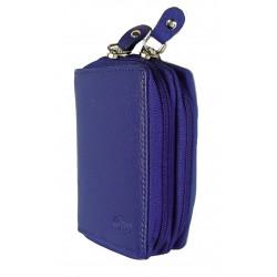 Kožené pouzdro na kreditní karty nebo vizitky DD S 786-06 modré