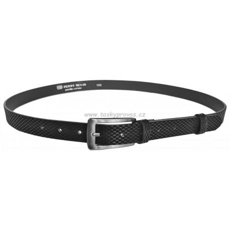 Opasek dámský kožený Penny Belts 25-176-615 černý