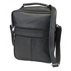Kožená taška pánská TM-10 černá
