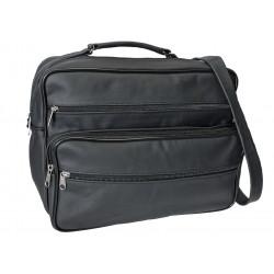 Kožená taška pánská TM-12 černá