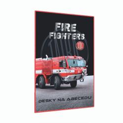 Desky na abecedu Tatra - hasiči