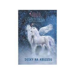 Desky na abecedu Unicorn 1