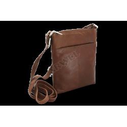 Kožená zipová malá kabelka Arwel