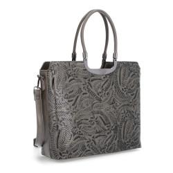 Elegantní kabelka Le Sands 4174 šedá