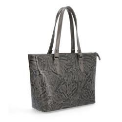 Elegantní kabelka Le Sands 4171 šedá
