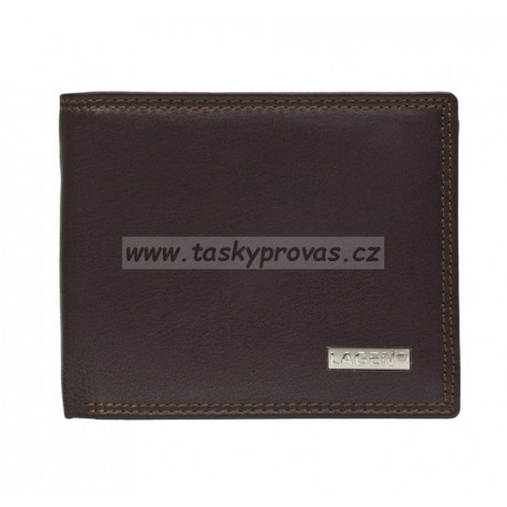 Pánská kožená peněženka Lagen LG-1788 hnědá