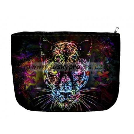 Kosmetická/toaletní taška velká - Black Panther Bertoni 322-1