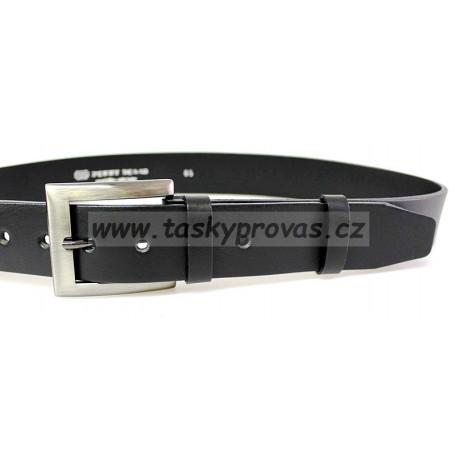 Opasek kožený Penny Belts 31-60-HL černý
