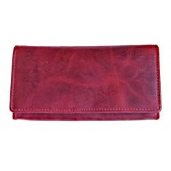 Dámská kožená peněženka Talacko 1257 red