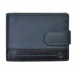 Pánská kožená peněženka Segali 951.320.005L blue