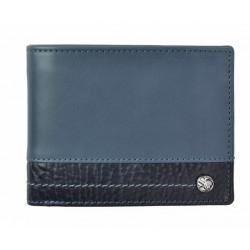 Pánská kožená peněženka Segali 951.320.005WL blue