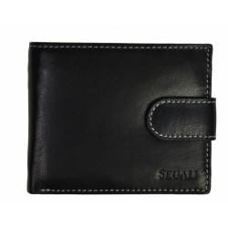 Pánská kožená peněženka Segali 2016 black