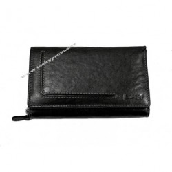 Dámská kožená luxusní peněženka Lagen HT-32/T černá
