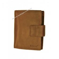 Kožená luxusní peněženka Lagen 3808/V hnědá