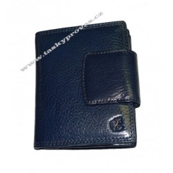 Dámská kožená luxusní peněženka Cosset 4404 Komodo blue