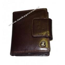 Dámská kožená luxusní peněženka Cosset 4404 Komodo hnědá