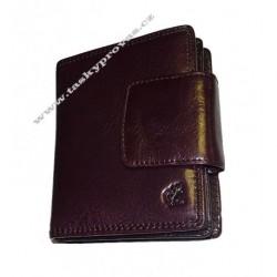 Dámská kožená luxusní peněženka Cosset 4404 Komodo purple