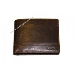 Pánská kožená peněženka Lagen 1996/T tm.hnědá